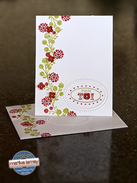 bright blossoms Stampin' Up!