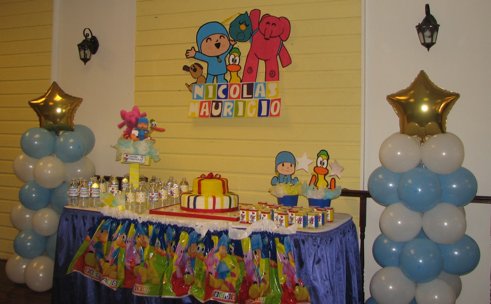 Pocoyo Birthday Party Decoration