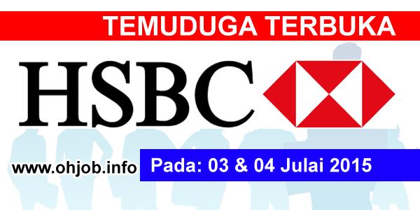Jawatan Kerja Kosong HSBC Bank Malaysia logo www.ohjob.info julai 2015