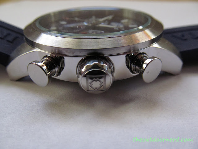 Invicta Men's 15200 Specialty Chronograph Watch - Closeup Of Crown 3