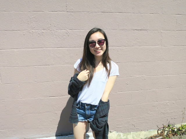 outfit, sunglasses, flannel