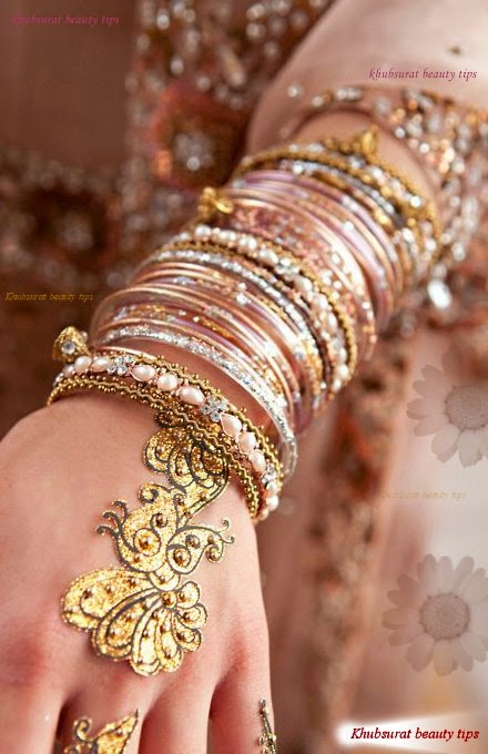 Stylish bangles for Brides 2014