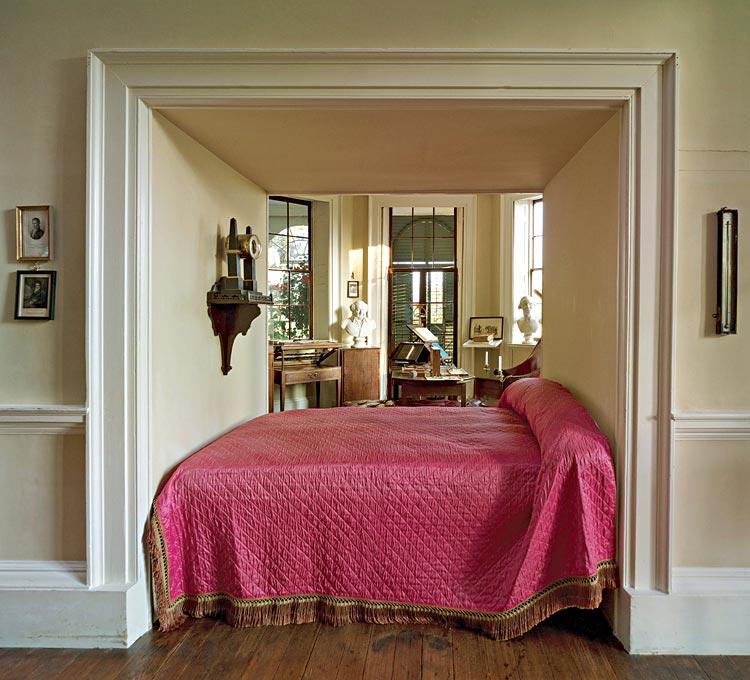 Thomas Jefferson's Alcove Bed