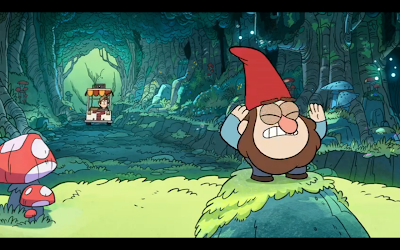 gnomes in Gravity Falls