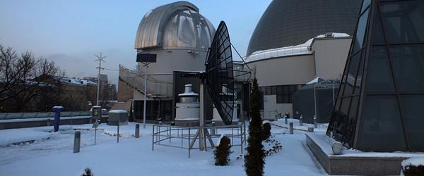 Московский Планетарий 2012 | Парк Неба под снегом