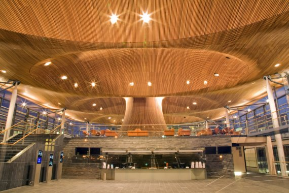 The Senedd by Architect Richard Rogers