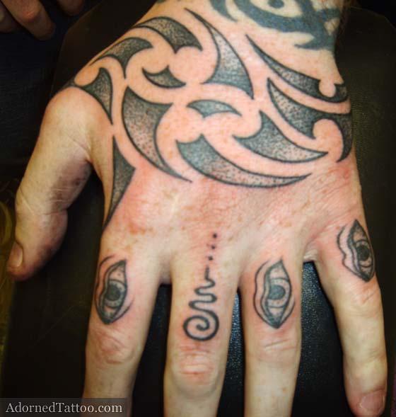 Catalogue tatouage Tattoo Tatouage - Alphabet Polynésien Tatouage
