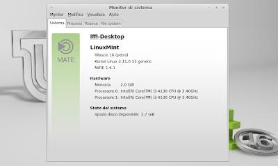 Linux Mint 16 Petra Mate DE