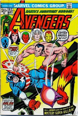 Avengers #117, Sub-Mariner v Captain America