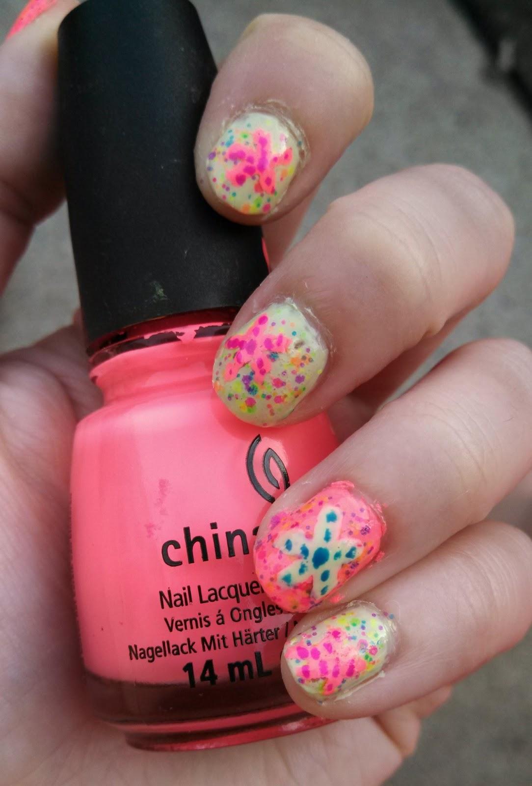 Nail Polish? Nail Polish!: July Nail Art - Sea Star Nails!