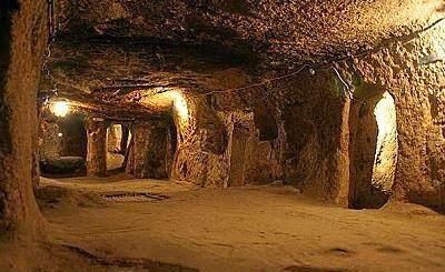 ciudad subterranea capadocia