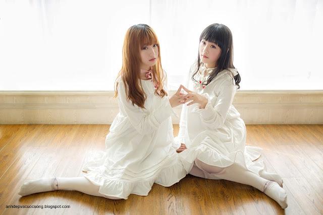Hai chị em xinh như thiên thần 8