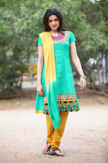 Actress Sakshi Choudary Latest Picture Gallery in Salwar Kameez 0049