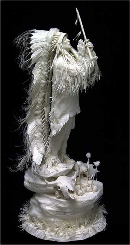 Incredible Paper Sculptures By Allen And Patty Eckman