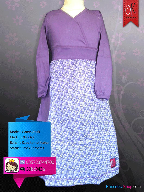 Model Baju Gamis Anak Terbaru 2014 Baby Zenia Baju