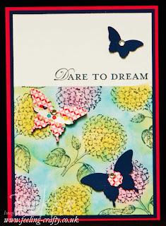 Best of Flowers Dare to Dream Card by UK based Stampin' Up! Demonstrator Bekka Prideaux