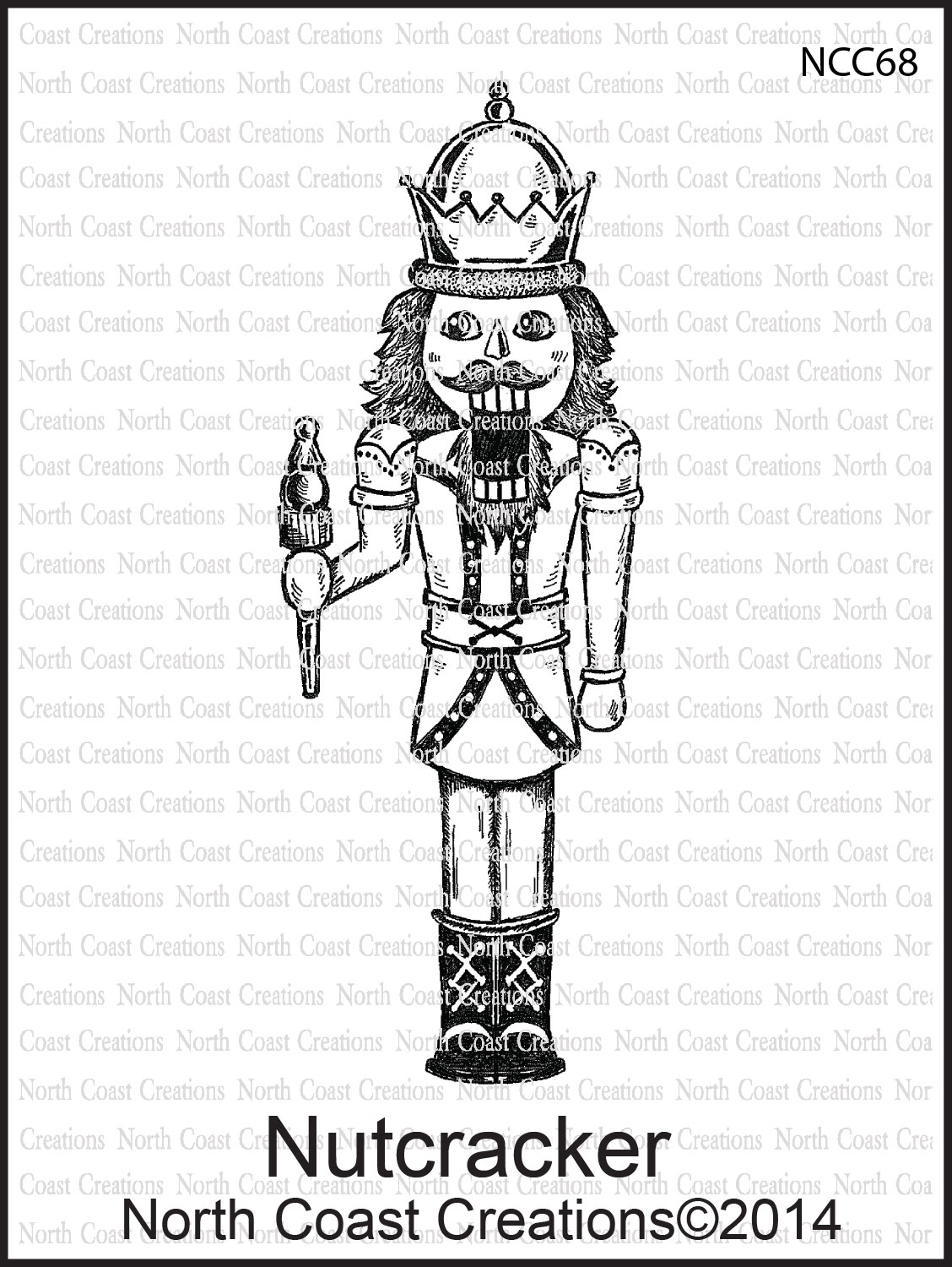 Stamps - North Coast Creations Nutcracker