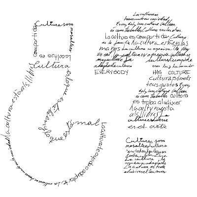 preguntas, interrogantes, caligrama