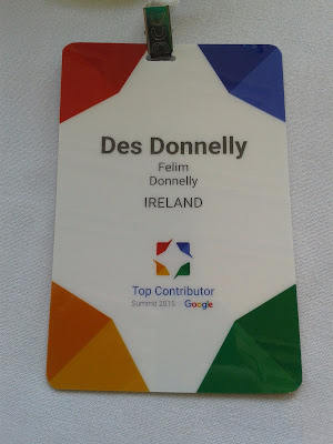 Des Donnelly Google Top Contributor