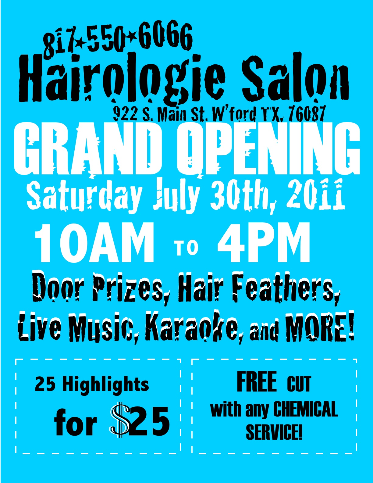 Hair Salon Grand Opening Flyer http://hawaiidermatology.com/grand/grand-opening-hair-salon-flyers.htm