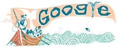 (18/10/2012) جوجل يحتفل بالذكرى الـ 161 لرواية ''موبي ديك'' للكاتب هيرمان ملفيل