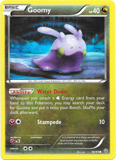 Goomy Ancient Origins Pokemon Card