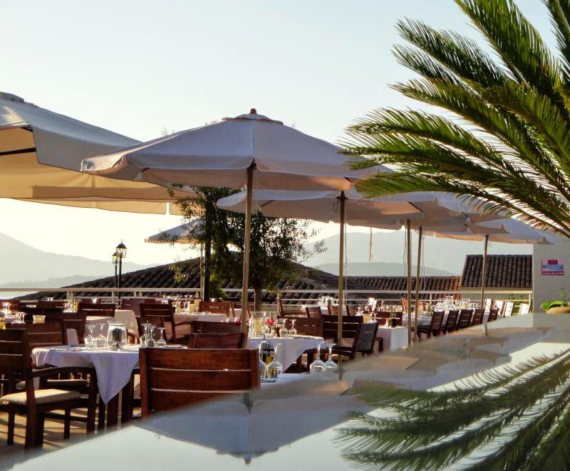 Terrasse du restaurant de la Résidence Bella Vista