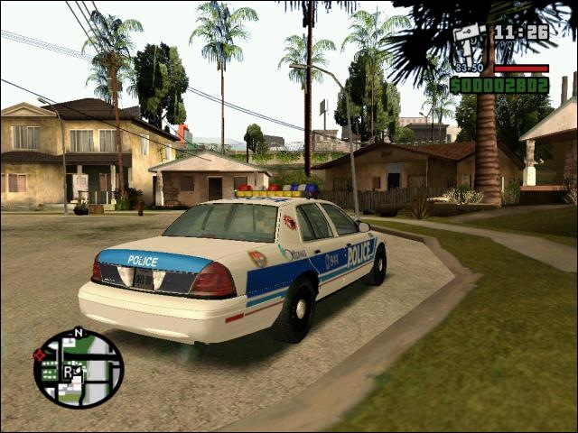 GTA San Andreas  City Of Ottawa Cop Car