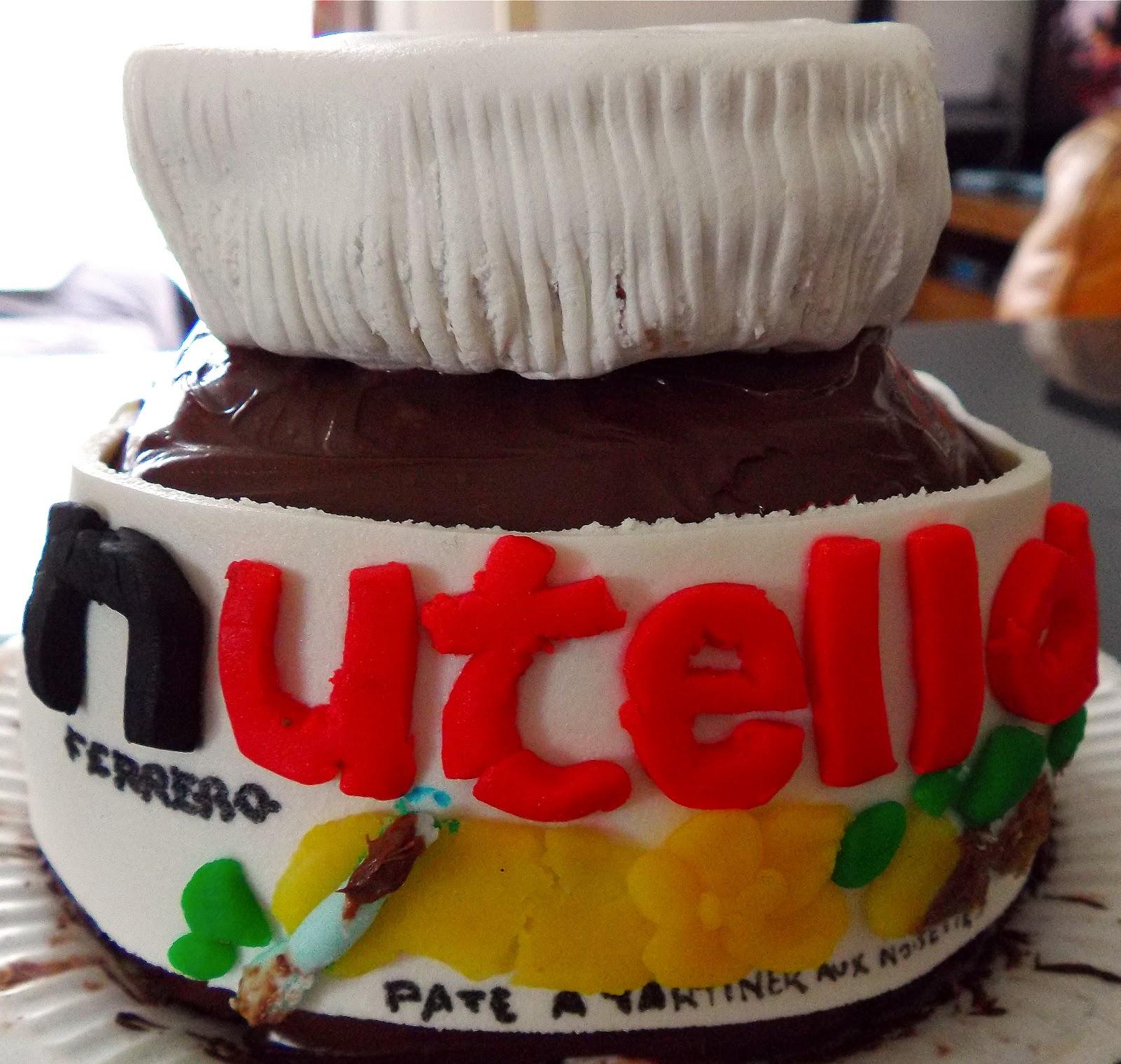 gateau gaga cakes le pot de nutella