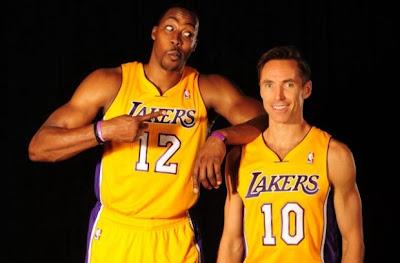 Howard and Nash Lakers