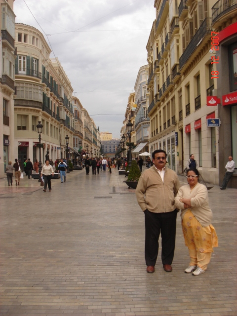 Streets Of Malaga Spain
