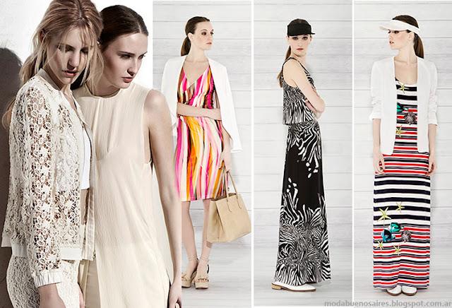 Moda verano 2015 argentina mujer. Carmela Achaval verano 2015 ropa moda 2015.