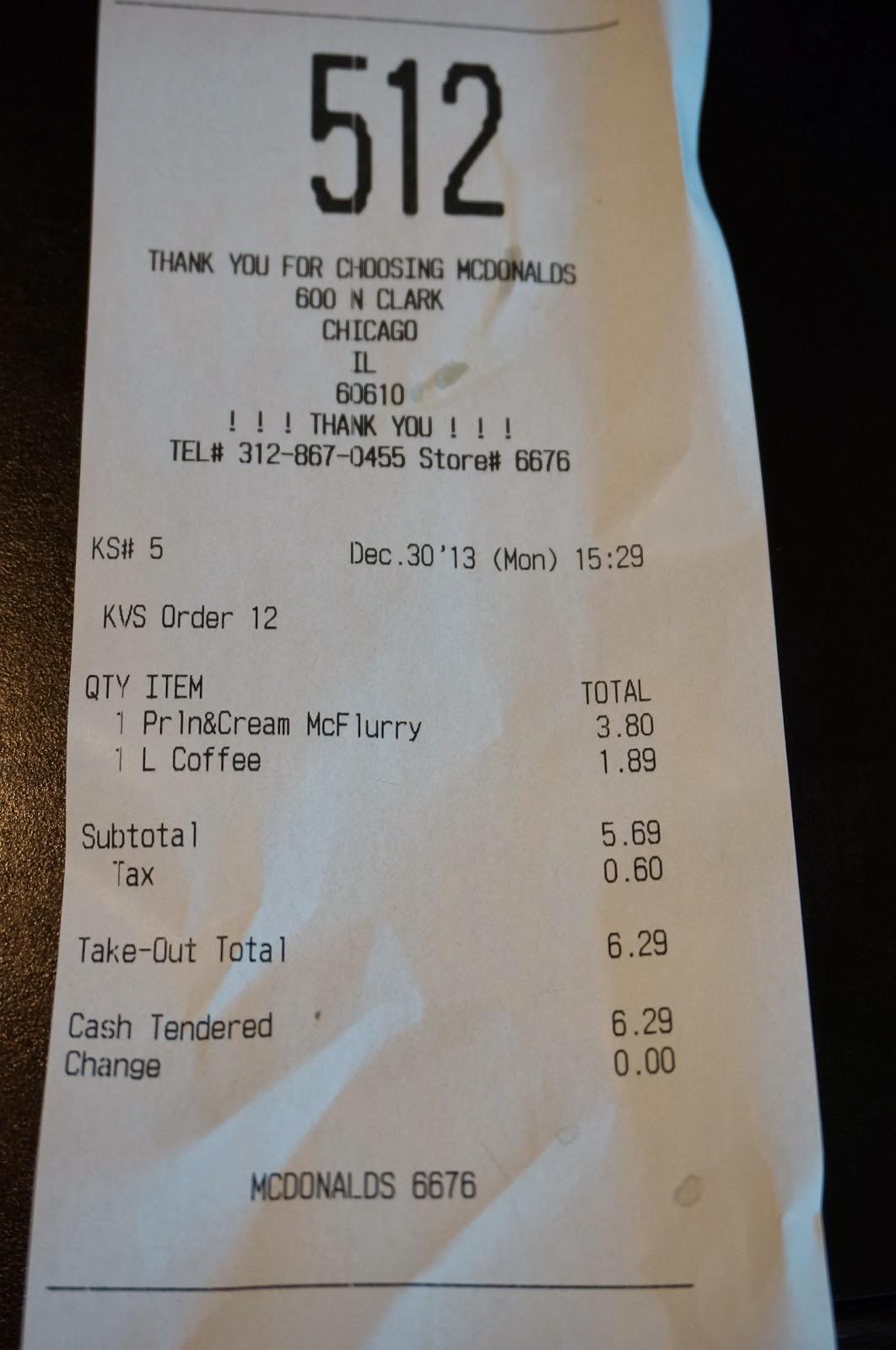 McDonald's Around the World: Pralines and Cream McFlurry - Chicago ...