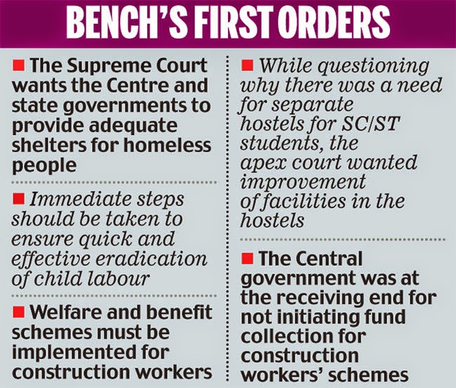 Social  Justice  Bench of the Supreme  Court of  India