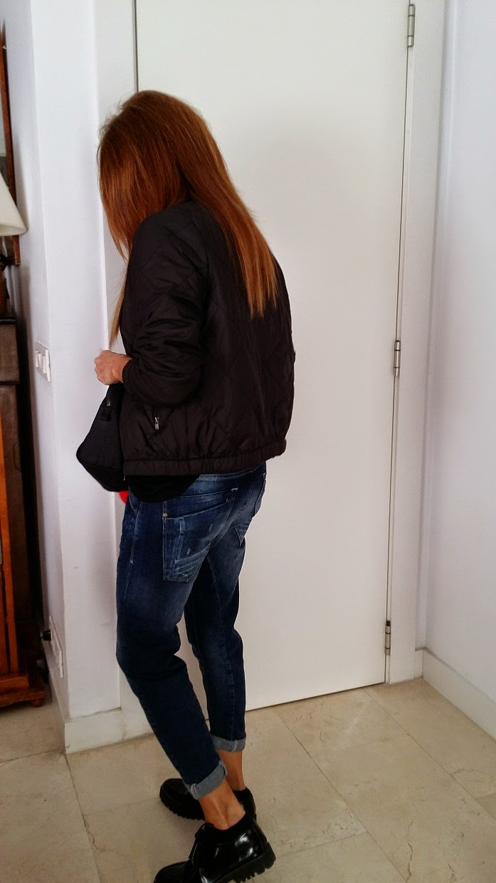 Baggy jeans, black, denim, style, looks, blog de moda, fashion style, SS15, Style in Madrid