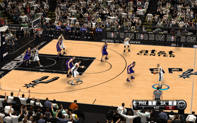Spurs HD Court | NBA 2K14 PC Mod