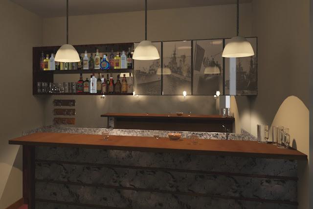 Oniria Remodelacion De Bar Marino