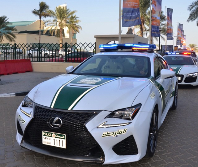 All Lexus: Why Does The Dubai Police Need A Lexus RC F?