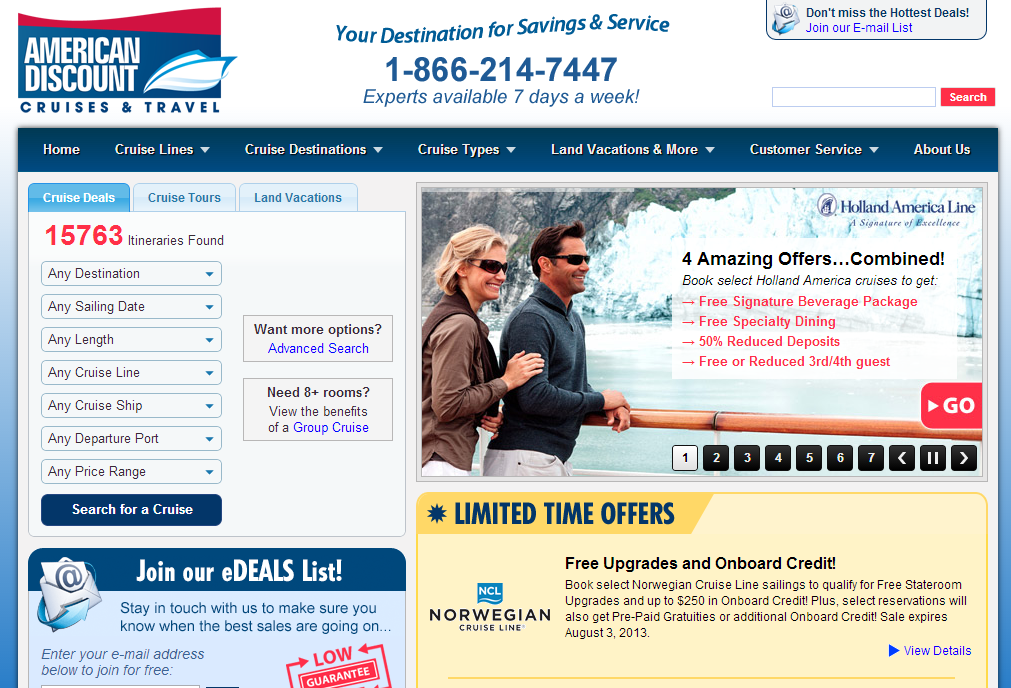 Best deals sites in us online shopping guide for Best travel discount websites