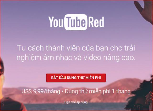 Youtube Red là gì?