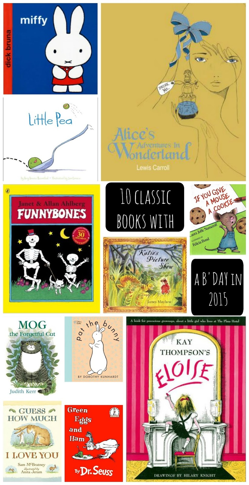 mamasVIB | V. I. BOOKCLUB: 10 Classic books celebrating a special birthday this year! | classic books | kids books and stories | book anniversaries | kids library