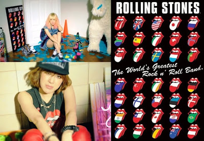 Seo In Young Anymore Rolling Stones poster t-shirt