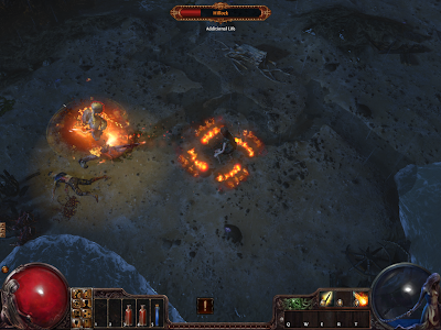Path of Exile - Casting Fireball