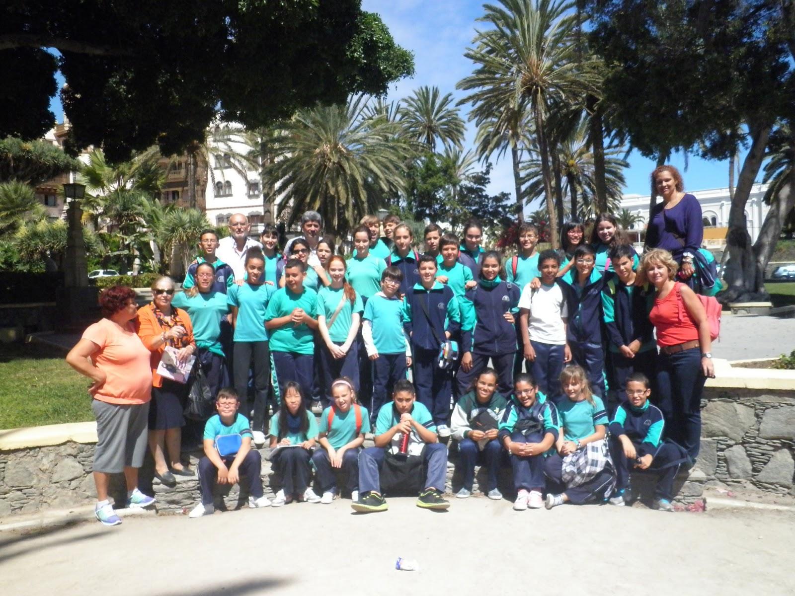 El blog de joaqu n nieto ceip policarpo b ez visita al for Ceip ciudad jardin