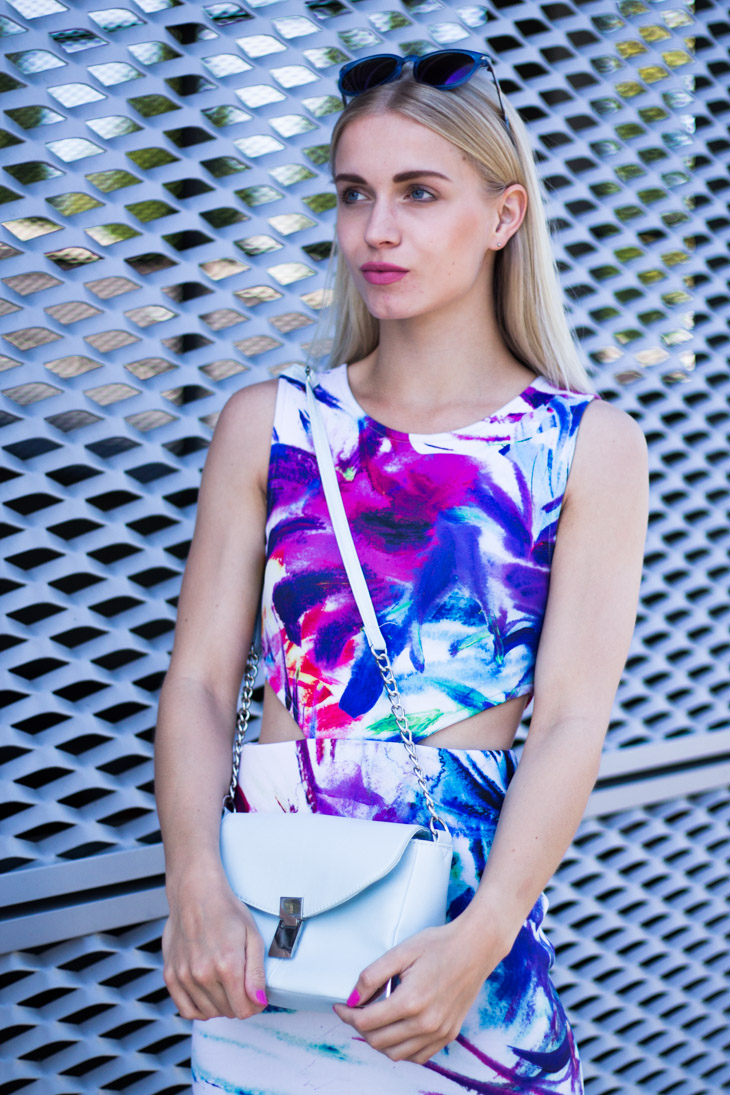 Fashion Attacks outfit ootd IvyRevel India Wild Floral