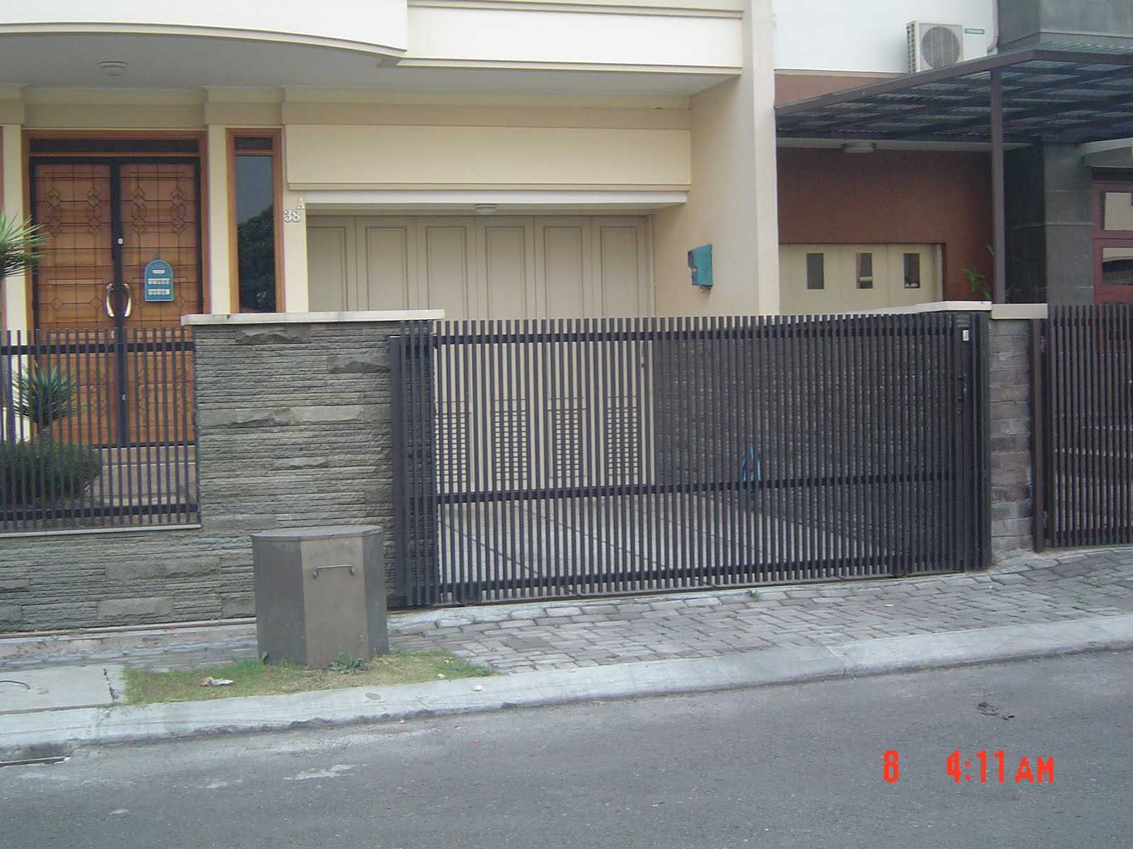 Pagar Minimalis 080911 Rumah Minimalis Desain Model