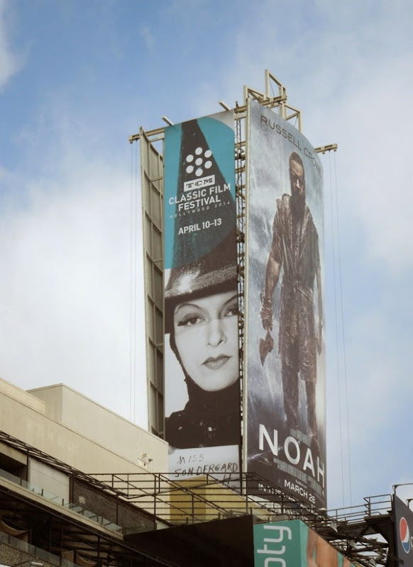 TCM Classic Film Festival 2014 witch billboard