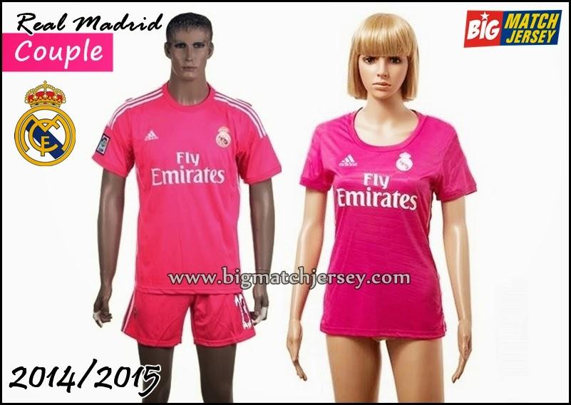 Jersey Real Madrid Couple Terbaru Liga Spanyol 2015