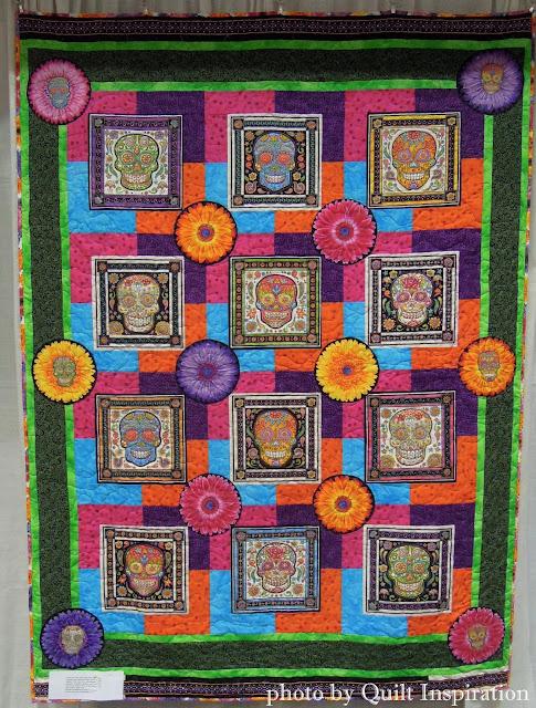Quilt Inspiration: Celebrating Dia de los Muertos 2015 : sugar skull quilt pattern - Adamdwight.com