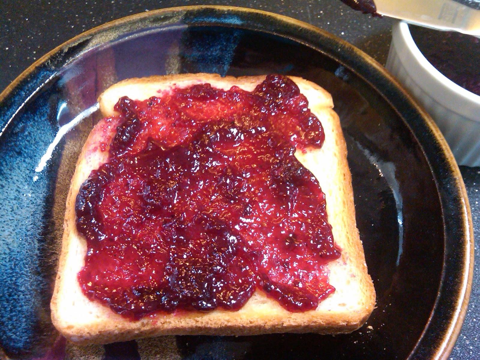 Michele 39 s woman cave blackberry pear jam for Blackberry pear jam